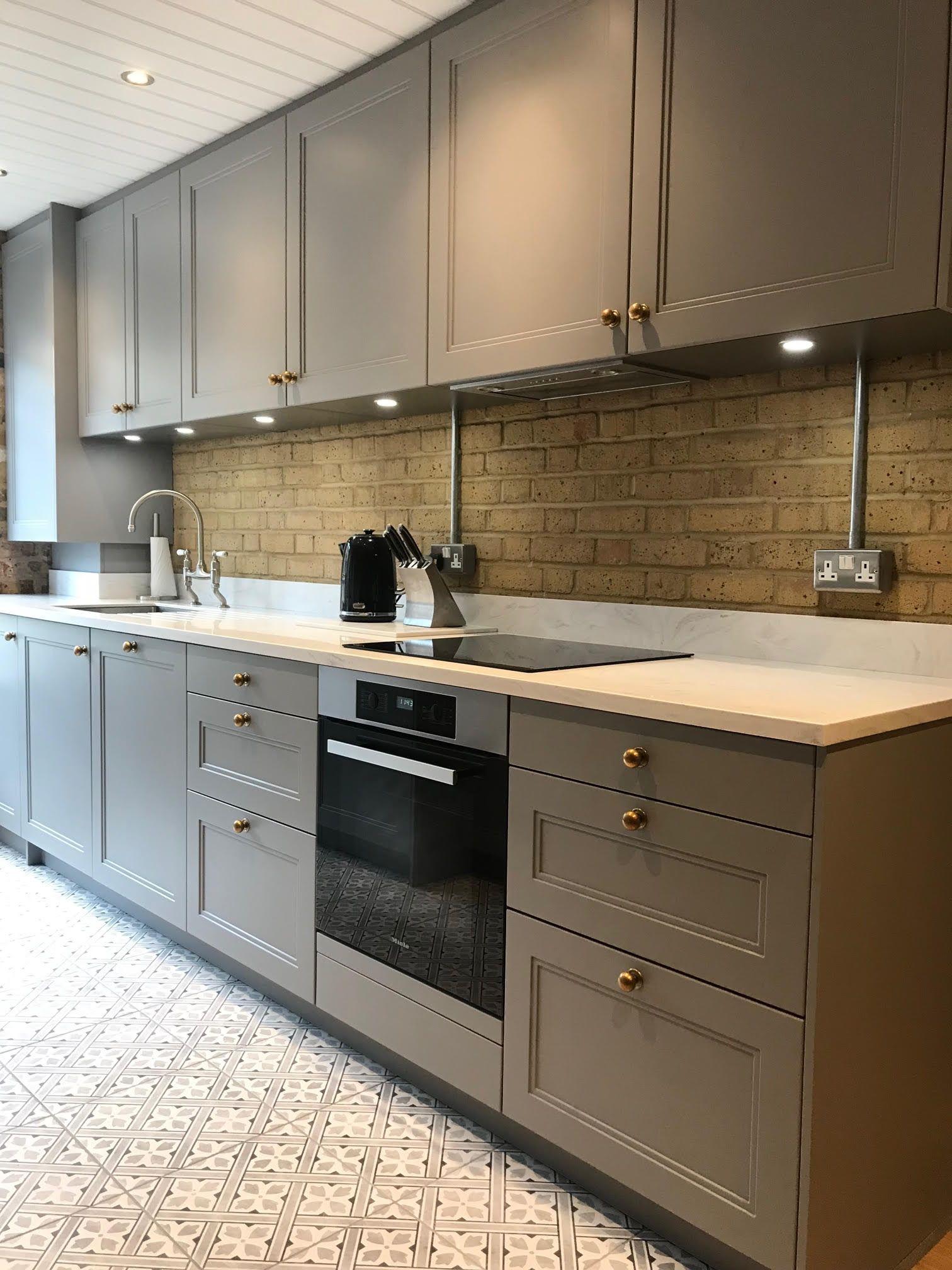 Beautiful Bespoke Kitchens Luxury Fitted Furniture One Wall Kitchen Kitchen Flooring Brick Kitchen