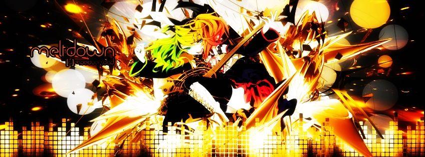 Rin Kagamine Meltdown Wallpaper