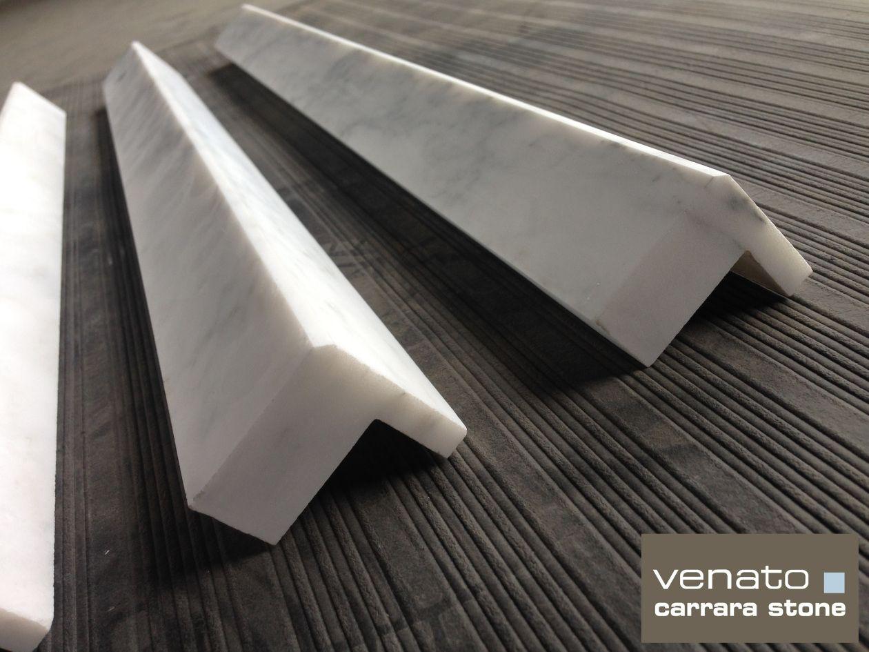square edge carrara venato trim tile