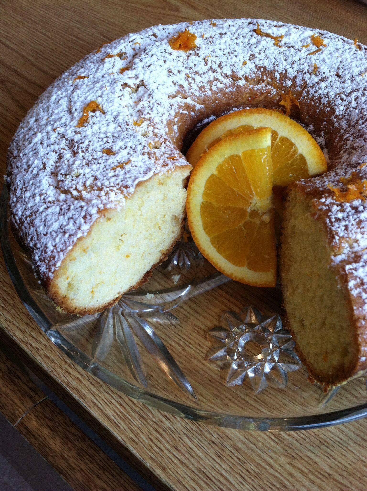 Orange yogurt cake 123113 ingredients 2 large eggs