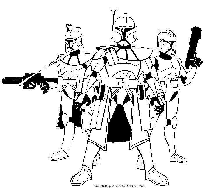 lego coloring pages star wars commander clone trooper | dibujos ...
