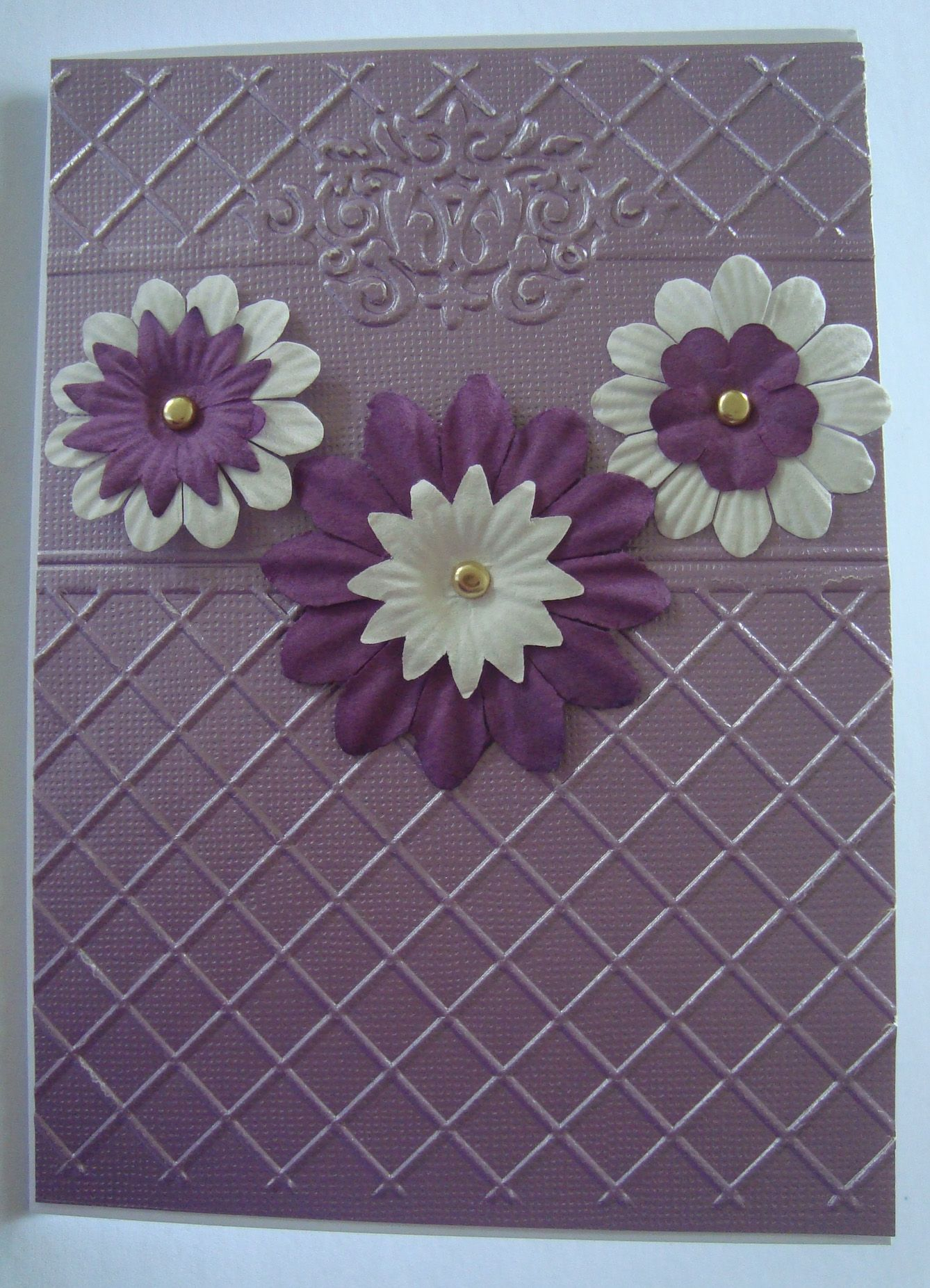 card making ideas embossing