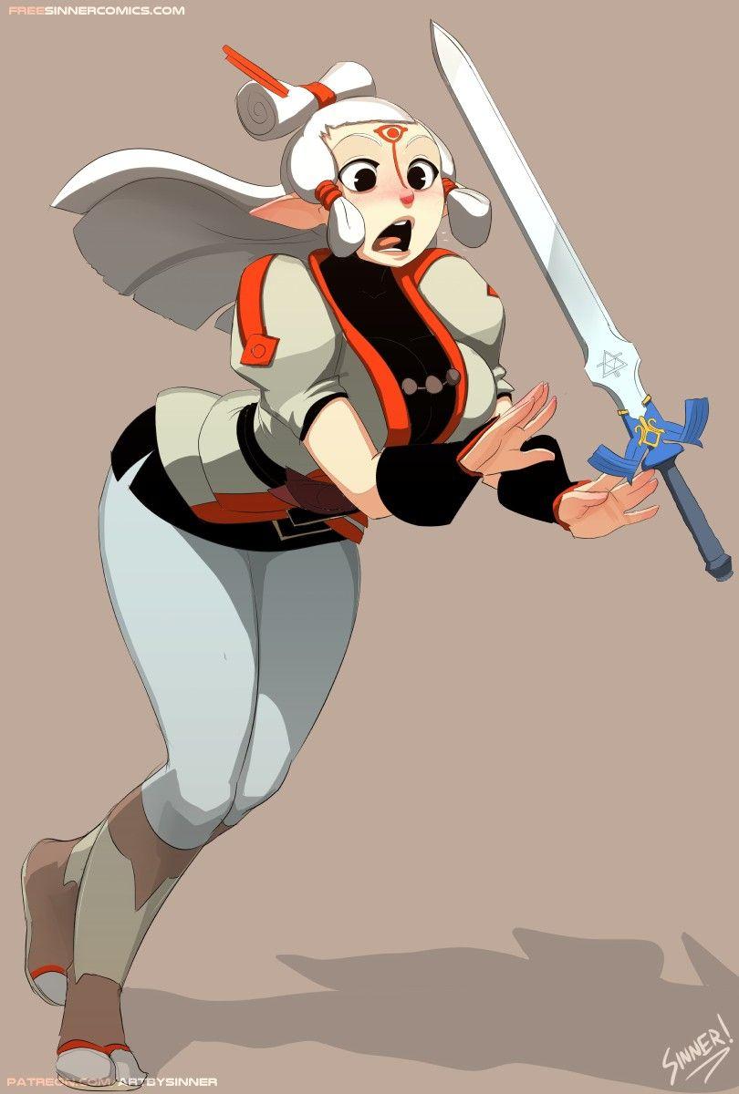 TLoZ: BoTW; Pay & The Master Sword 💜   Legend of zelda
