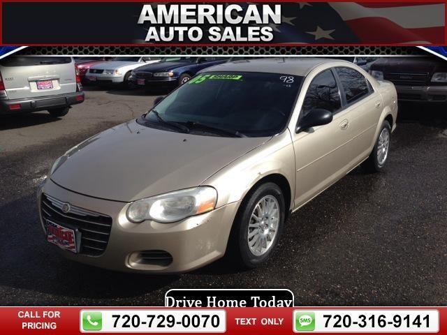 2005 Chrysler Sebring Sedan Gold Call For Price Miles 720 729 0070