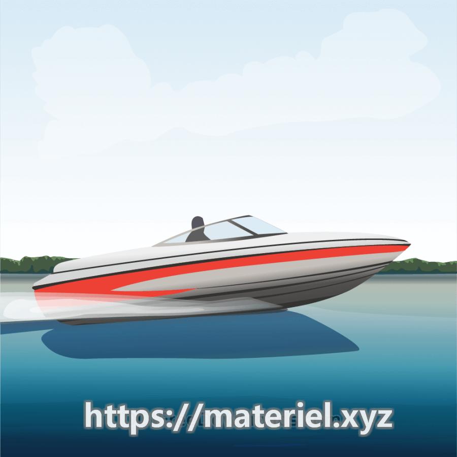 Speedboat, activity beach boat cartoon coastline day