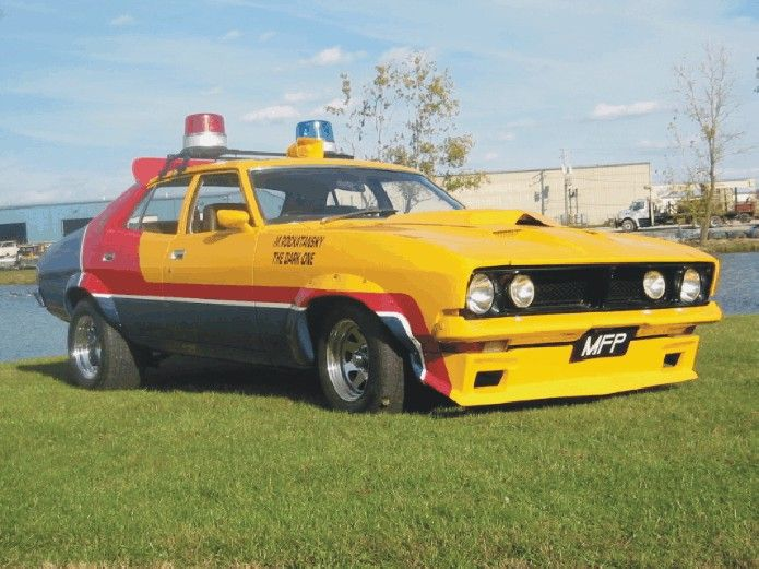 1974 Ford Falcon Sedan Xb Pursuit Vehicle Mad Max 1979 Cars