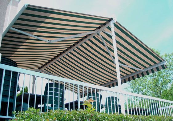 The Eclipse Butterfly is a free standing retractable awning system