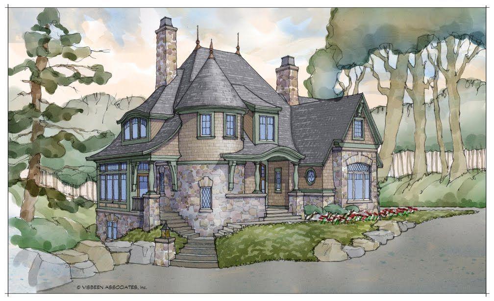 visbeen associates storybook homes series 4 victorian house plansvictorian