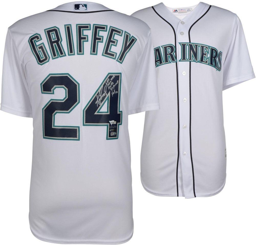 75353261e Autographed Ken Griffey Jr. Mariners Jersey Fanatics Authentic COA  Item 9000059  sportsmemorabilia