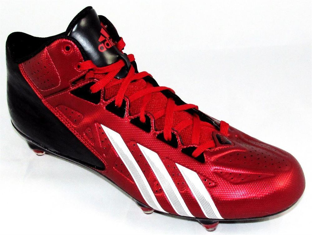 Adidas filthy quick adizero mid d football cleats size 12