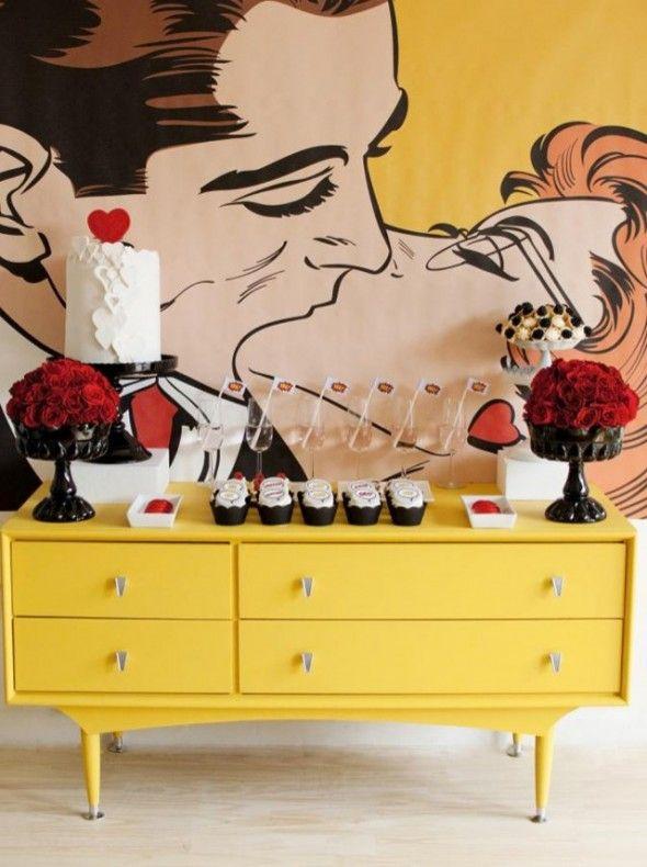 pop art wall | Pop Art | Pinterest | Art walls, Walls and Renting
