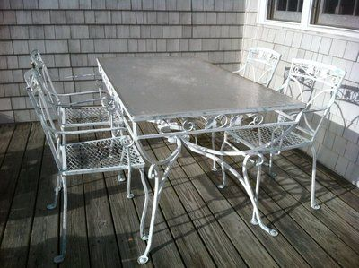 salterini mt vernon table chairs cart c19401950s pic 2