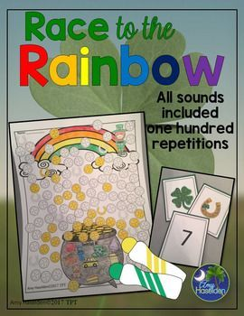 St. Patrick's Day Articulation 100 Repetitions Activity ...