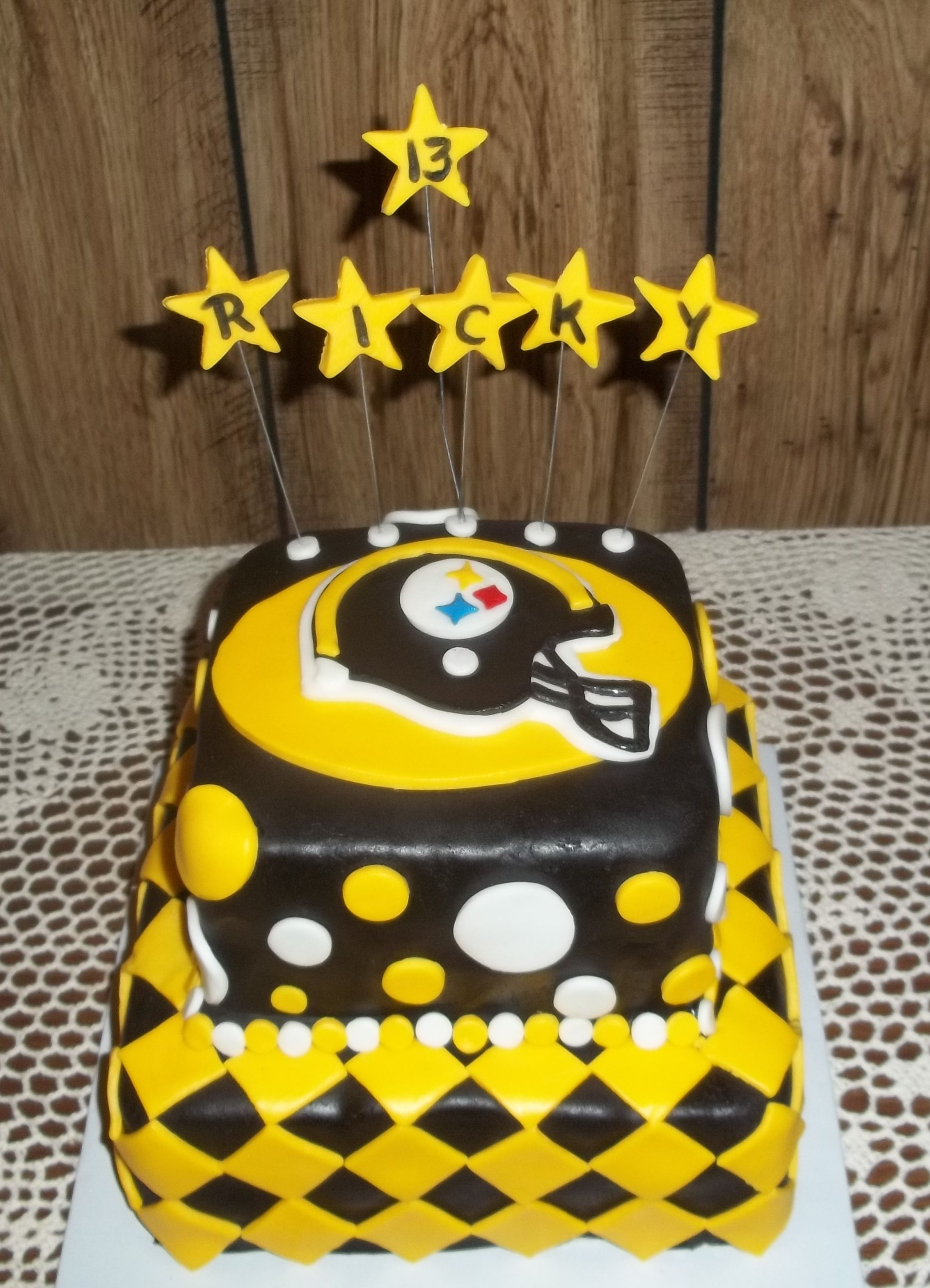Pittsburgh Steelers Birthday Cake Grandma Bettys Bakery Delights