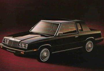 1985 Chrysler Lebaron Coupe Chrysler Lebaron Chrysler Car Photos