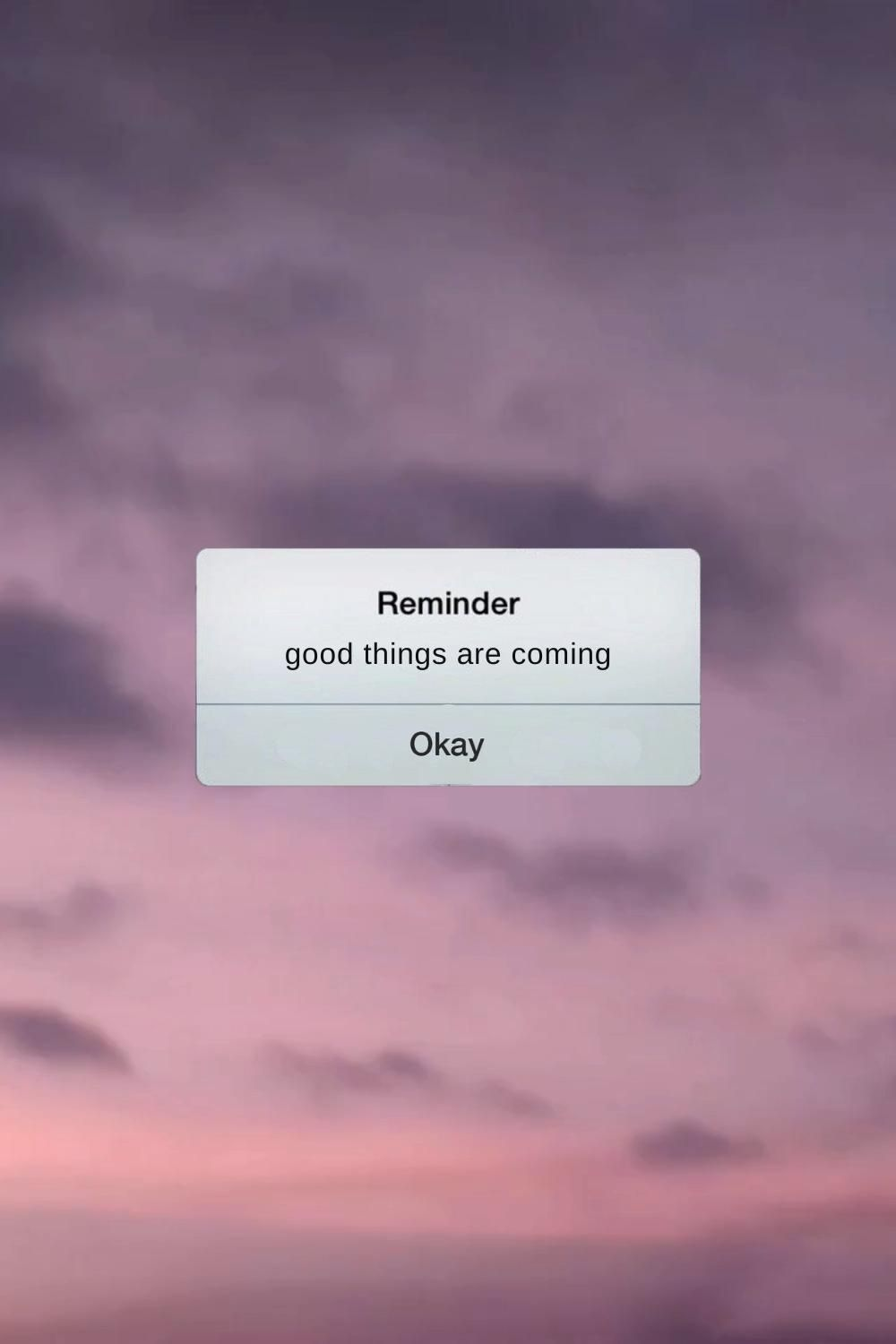 iPhone Notification Template For Personal Quotes a
