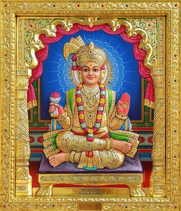 Nar Narayan Dev From Swami Narayan Bhuj Kutch Mandir Lord Krishna Wallpapers Lord Vishnu Wallpapers Hindu Gods