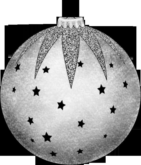 Christmas Balls Drawing Png File