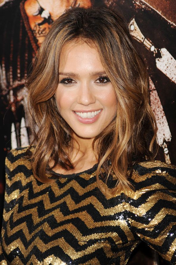 Celebrity Dip-Dye Styles & Colours - Ombre Hair Trend (Glamour.com UK) - Jessica Alba