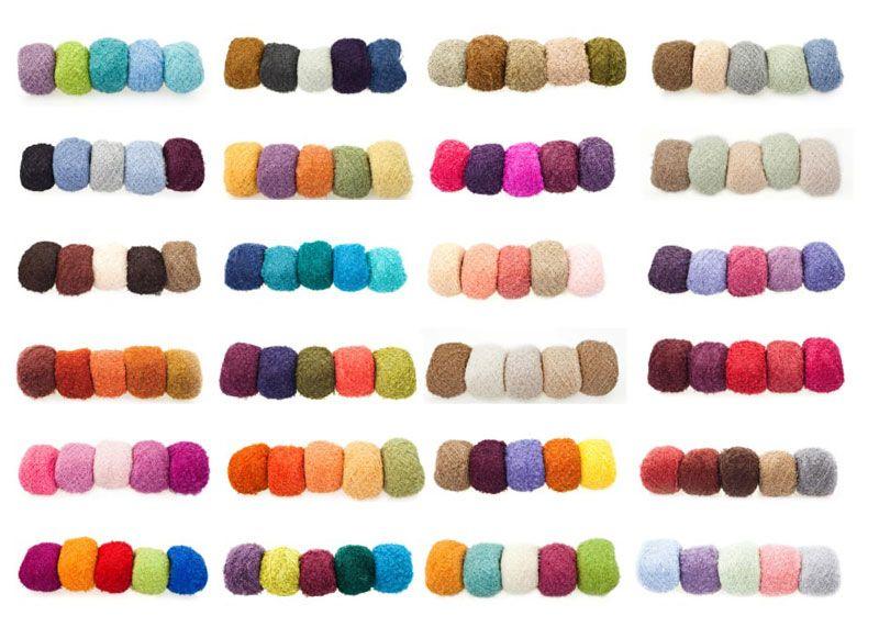 como combinar colores para tejer | combinación colores | Pinterest ...