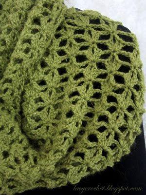 Lacy Crochet Lacy Infinity Scarf My Free Crochet Pattern Curtain