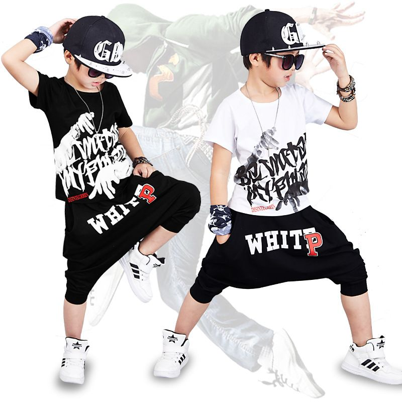 Favori Click to Buy << 2017 new fashion print Baby boys t-shirt hip hop  CE18