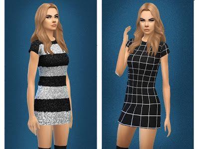 55c2b6c8b64c My Sims 4 Blog  Fran Dress and Celine Jumper by Sentate