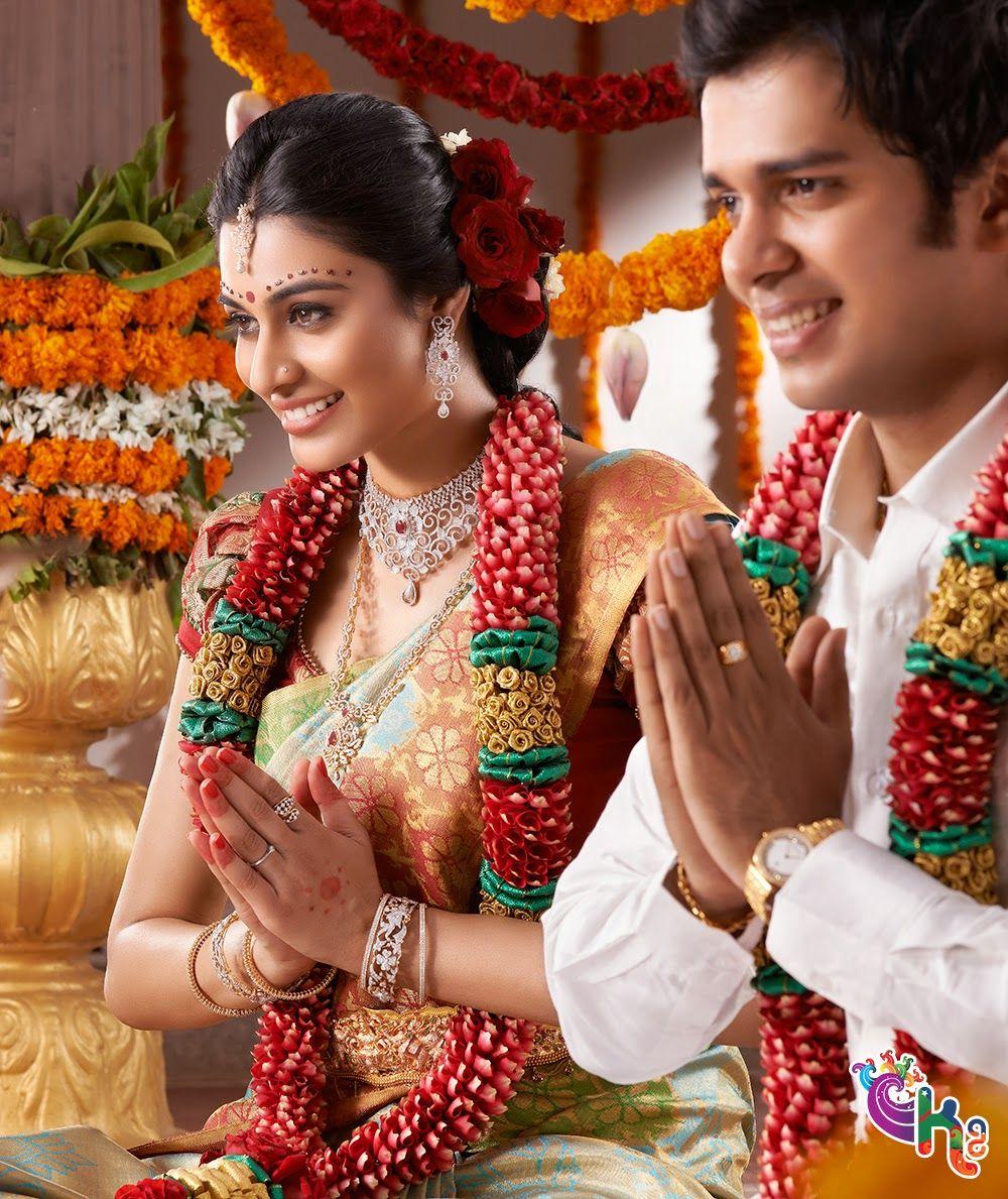 Hairstyles With Flowers Kerala: Silksaree Pattusaree Indianfashion