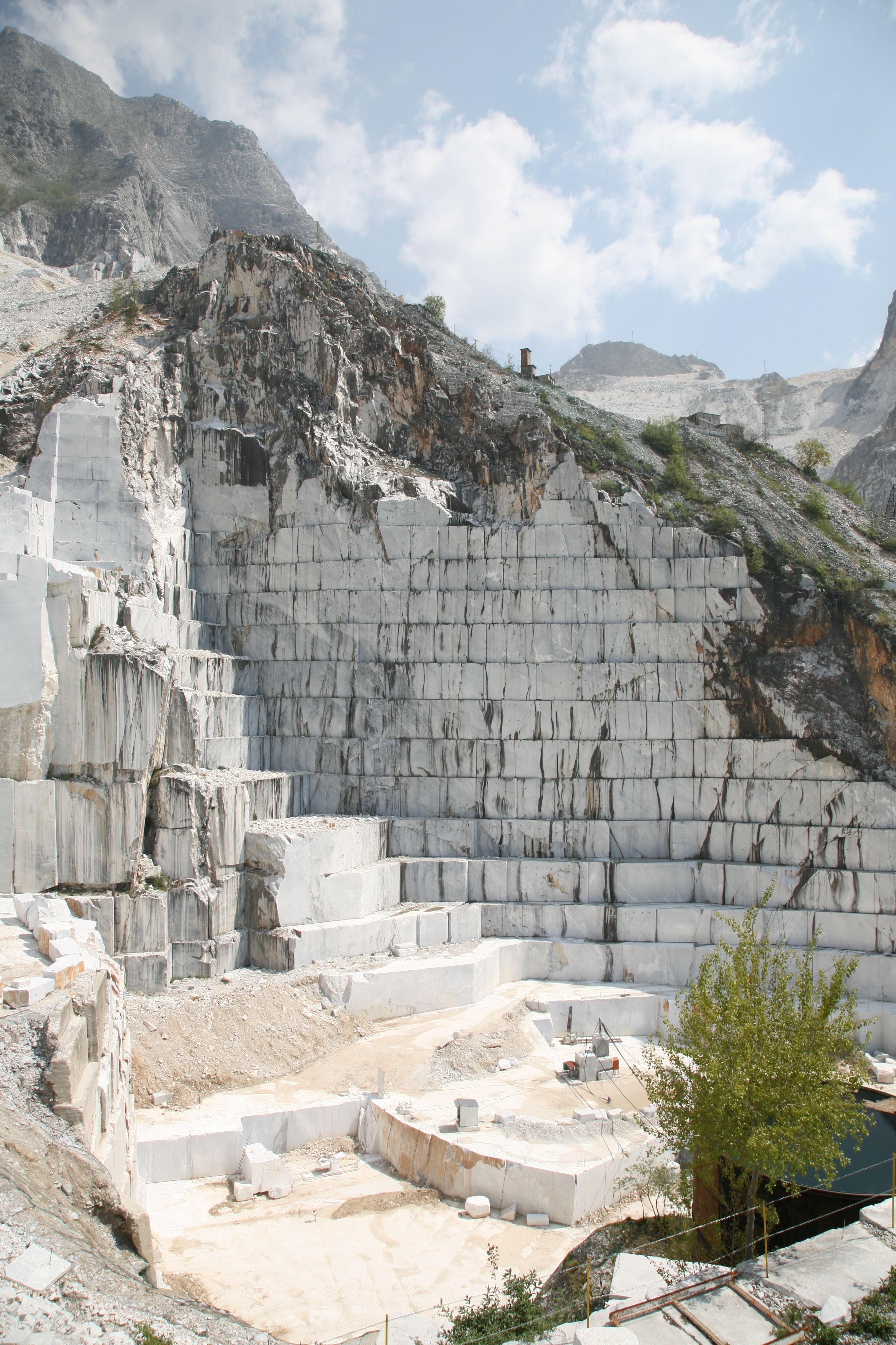 Carrara Marble Quarry Amazing Carrara Quarry Photos
