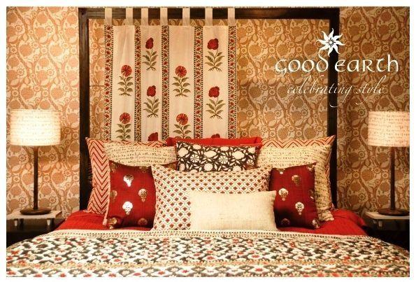 Bed indian interiors interior pinterest - Tapijt tienerjongen ...