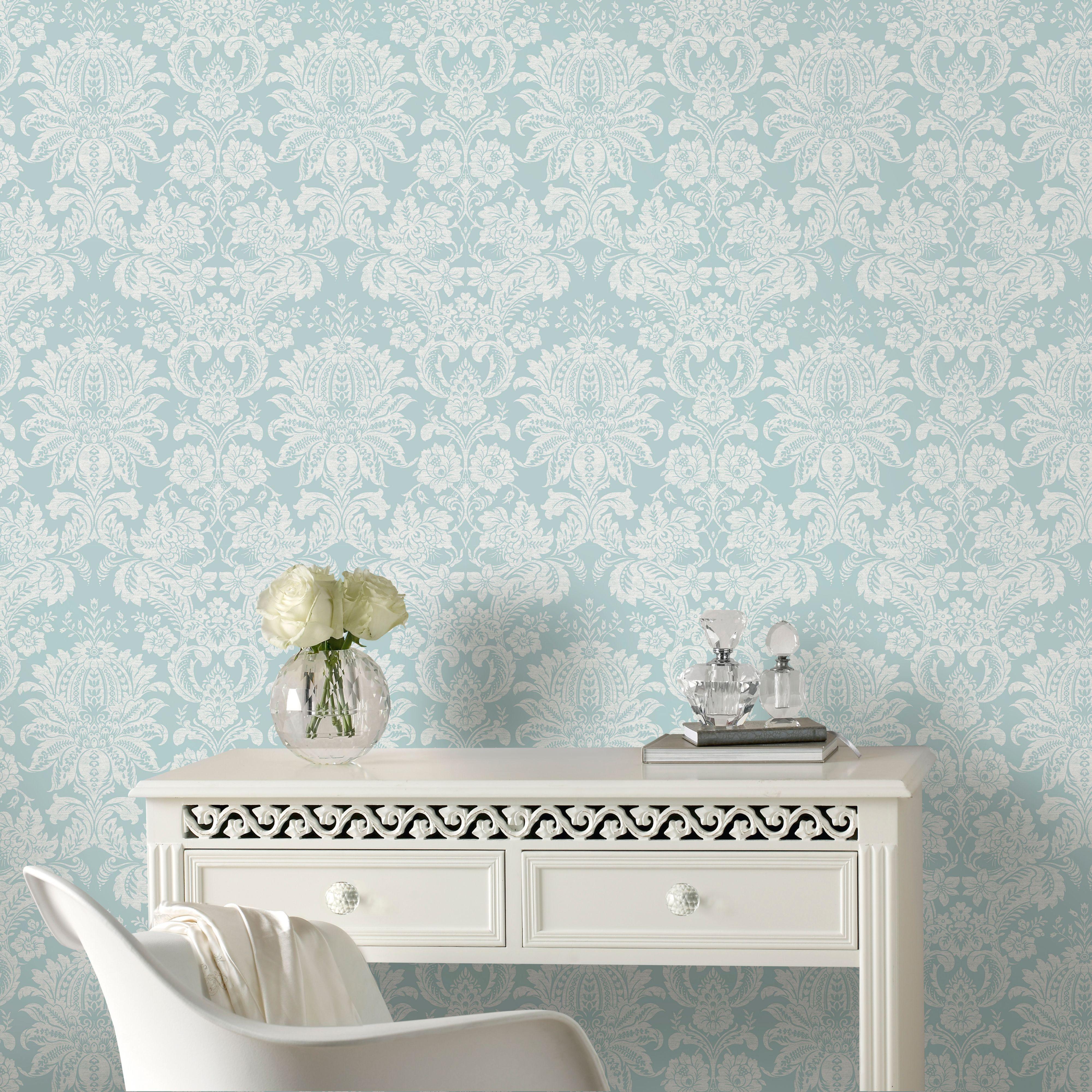 Superfresco Easy Blue Venetian Wallpaper