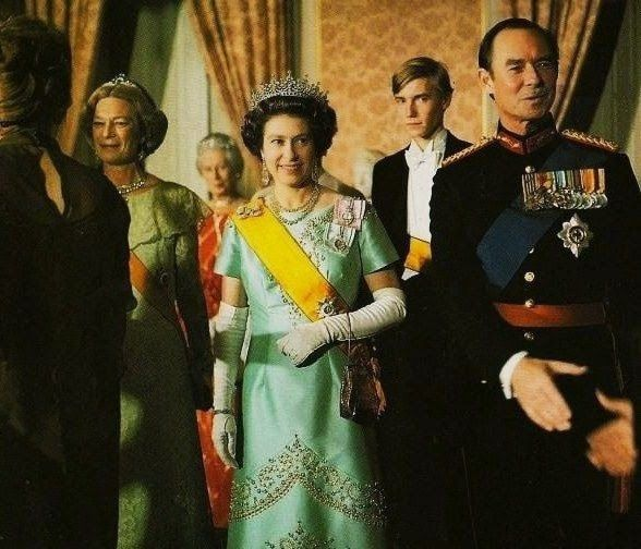 In conjunction with the Royal Banquet, hosted by the Grand Duke Jean and Grand Duchess Joséphine-Charlotte during her visit to Luxebourg in November 1976