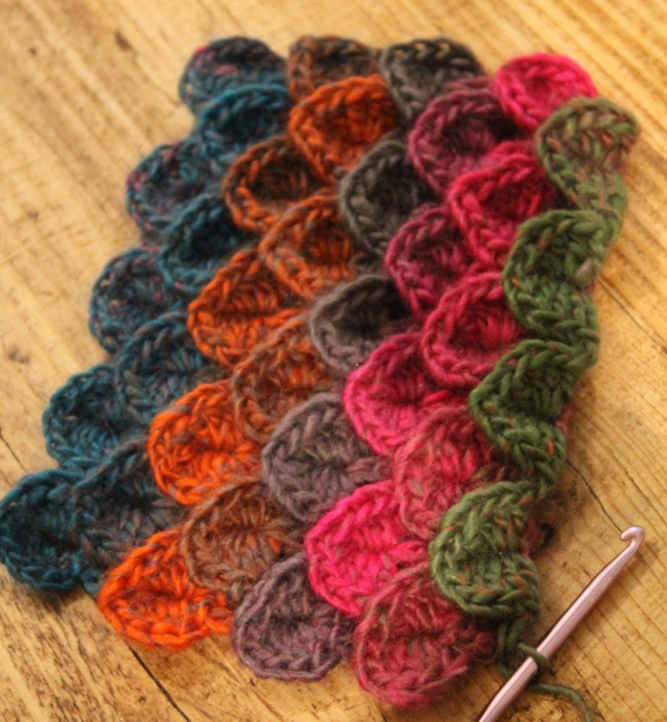 Crocodile Stitch | Crochet patterns | Pinterest | Häkelmuster ...