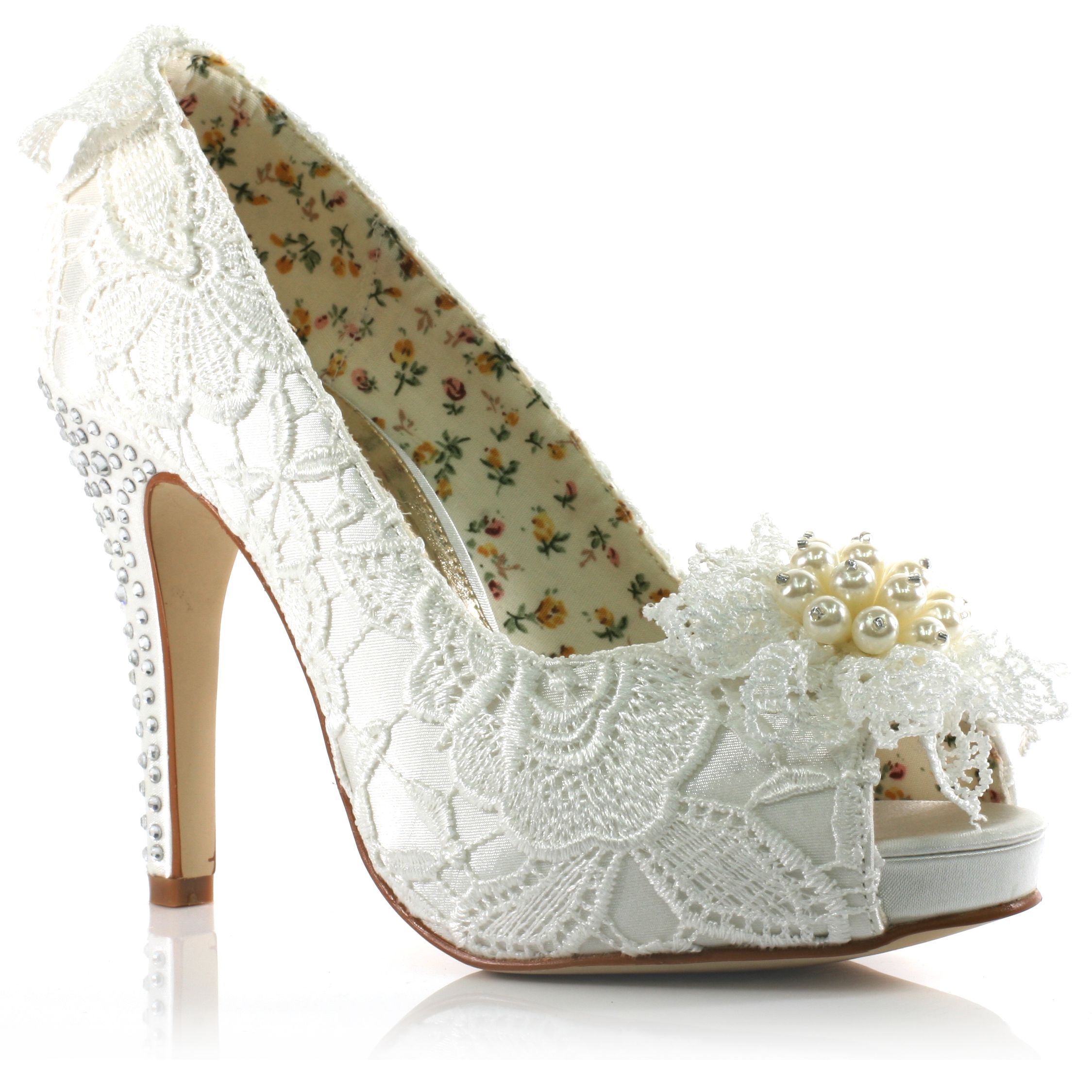 Top 25 ideas about Wedding Heels on Pinterest | Wedding shoes ...