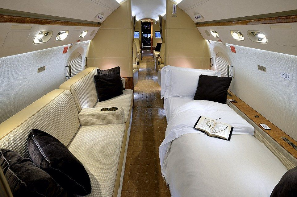 Inside Tescou0027s Luxury Private Jet, Now On Sale For £23million .