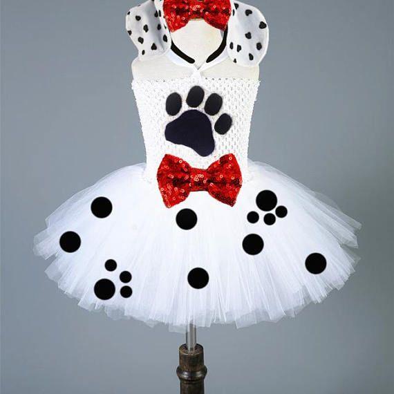 Dalmatian Costume 101 Dalmatians Dalmatian Tutu Dalamatian |Dalmation Dance Costume