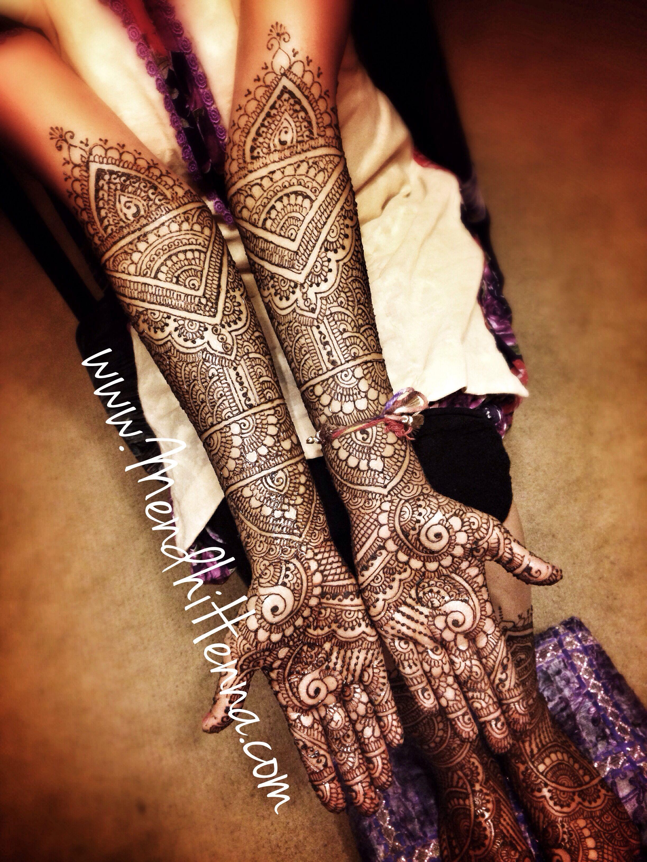 Mendhi Design For An Indian Wedding Desi Bridal Henna Henna