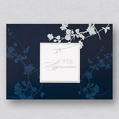 With Appreciation Thank You Card Thank You Cards Pinterest