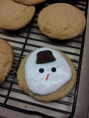 Melted Snowman Or Florida Snowman Cookies From Gfs Marketplace