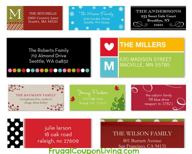 Shutterfly: FREE Personalized Labels or Photo Magnet