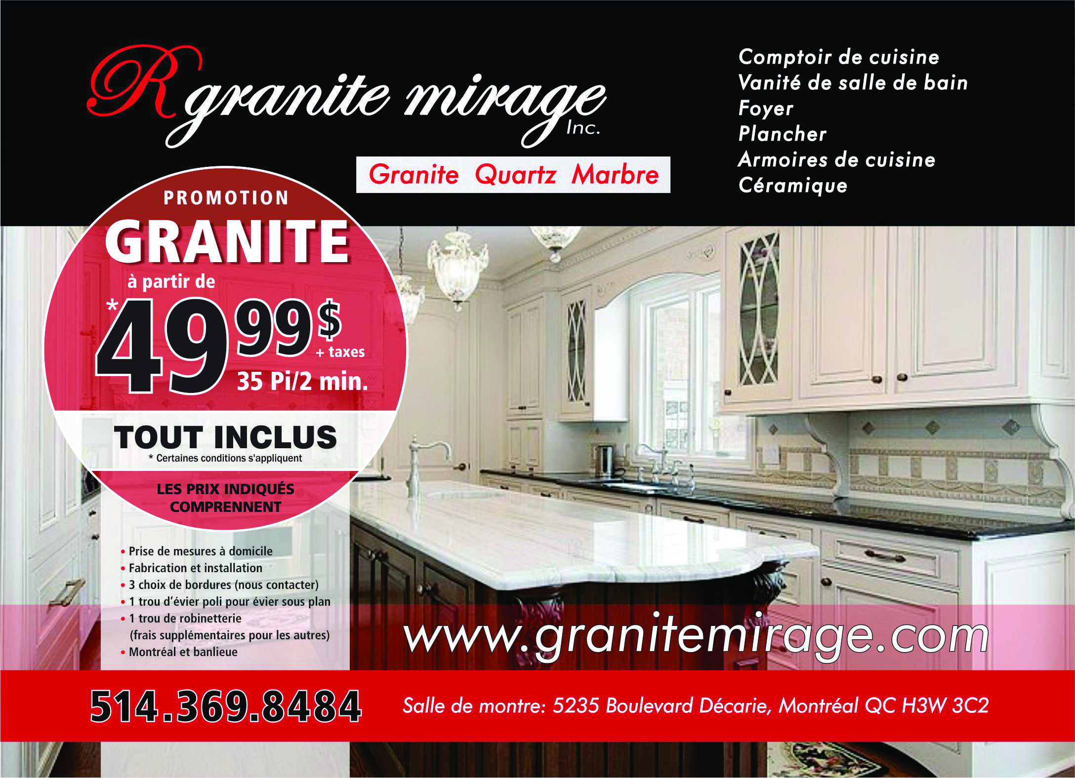 R Granite Mirage inc granitemirage on Pinterest