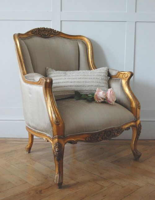 Gold Gilt Emmanuel Chair