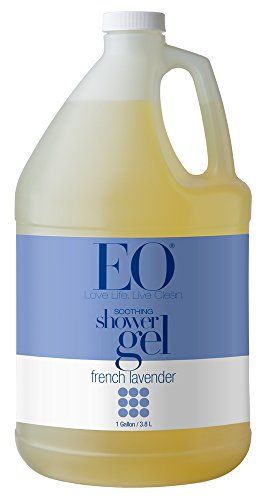 Eo Soothing Botanical Shower Gel Refill French Lavender 128 Ounce