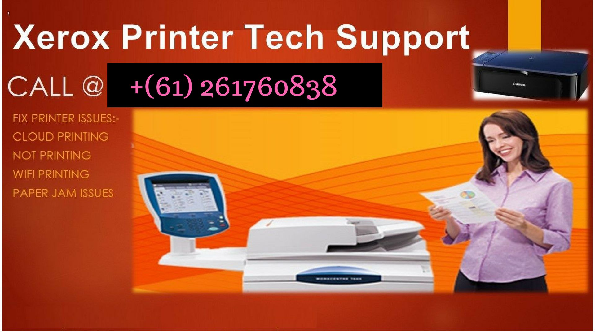Xerox Support Number Australia 61 261760838 The Issues Which