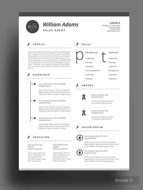 CENTONE RESUME Get this amazing resume template that comes with - interesting resume templates