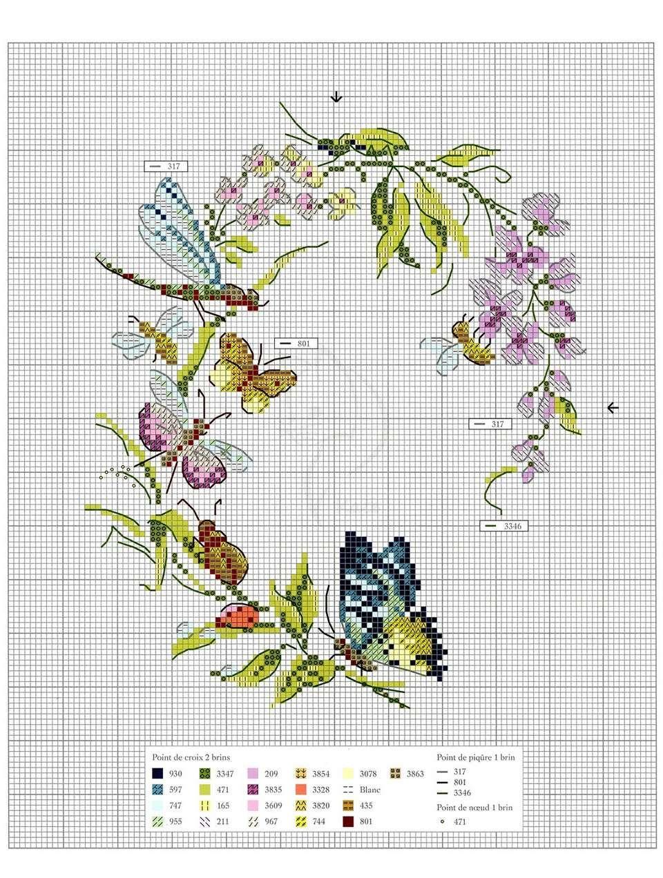 Мобильный LiveInternet Oiseaux, papillons et petites betes au point de croix 2017. | гилана - Дневник Наталии Гревцевой |