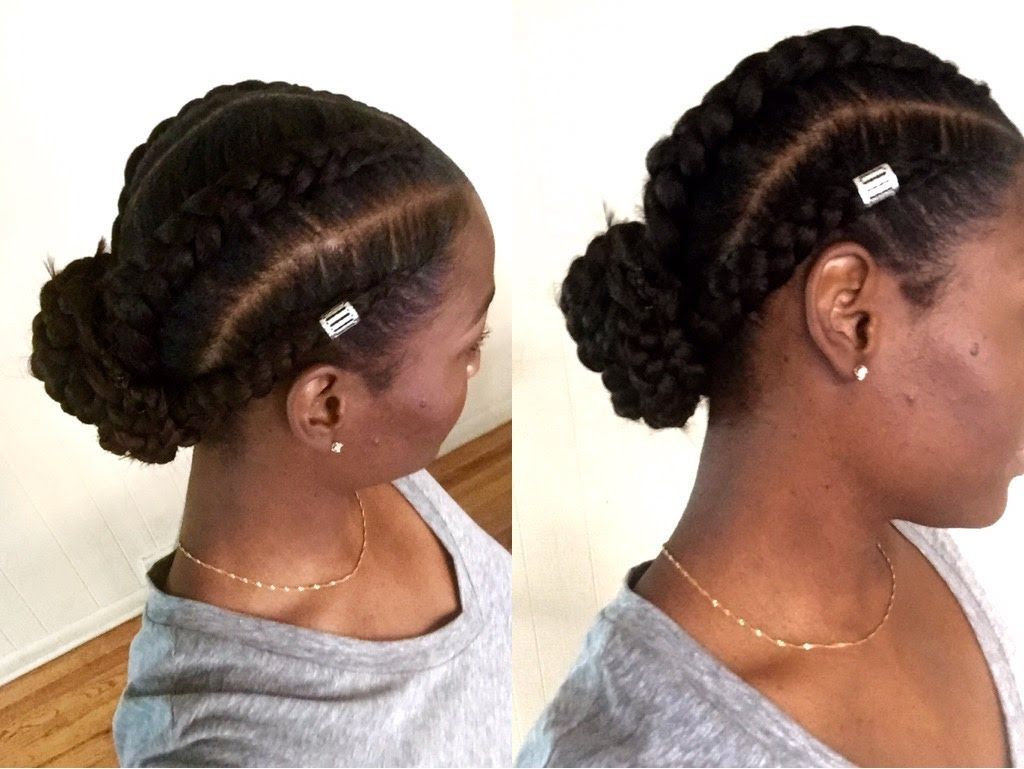 Easy Jumbo Feed In Cornrows Quick Tutorial Ashley Lashae Hair