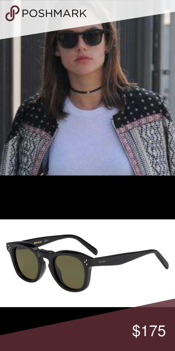 92b97bb419123 Celine Bevel Sunglasses These Celine CL 41371 S Bevel Square sunglasses  come in a stylish