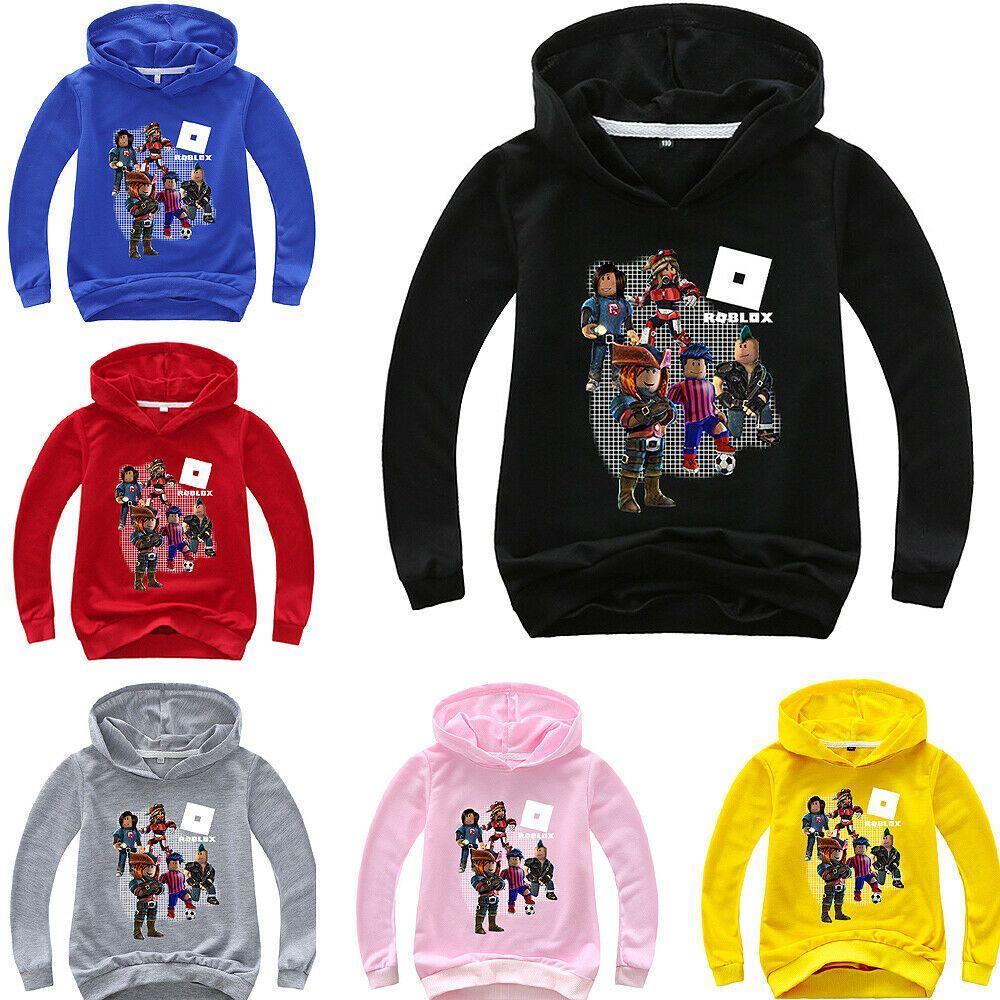Details About Boys Girls Kids Roblox Spring Fall Sweatshirt