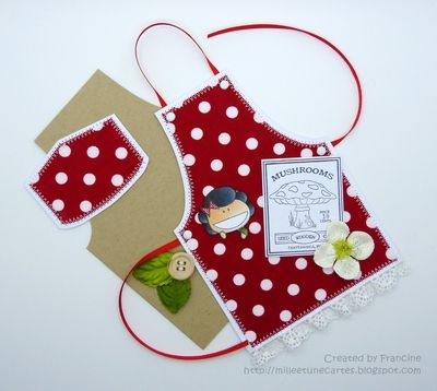 Dt Make It Monday Apron Card Tutorial Card Tutorial Gift Tags Diy Card Tutorials